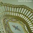 ドイツ製 ドレスデン カール・ティーメ工房 オールハンドペイント バスケット