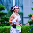 中国四千年の美女も走る! 深セン南山ハーフマラソン
