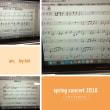 アレンジして、PCでピアノの楽譜を作成