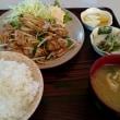 浦川原のたちばなで焼肉定食