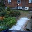 大山ペンション村は初雪です