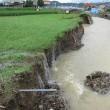 地元の農地の豪雨災害
