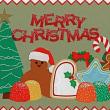 Card ごのみ531~ 冬のお菓子&クリスマス人形
