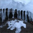 奥日光の冬景・10 ~歌ケ浜の'しぶき氷'