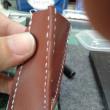 合皮には、合皮に合った縫い方があるんだな・・・