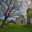 ロマネスク様式の小さな教会…マトリーチェ