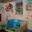 3つの小学校の子ども達の作品展★コミセンいわつき