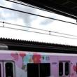 かわいい電車です