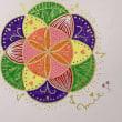 昨日はトリニティさんで神聖幾何学HaRe・Art の体験講座でした(╹◡╹)❤️
