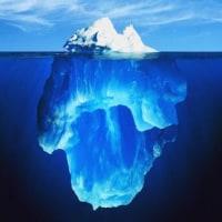 今書いている詩(1340)「氷山」