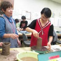 シルバーカレッジ陶芸体験