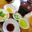 ピリ辛メンマご飯と湯豆腐鍋♪