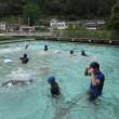 6月18日(月)津木小プール、本日オープンしました。