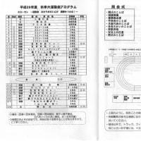 平成29年度運動会 プログラム