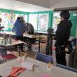 雪のたこづくり教室