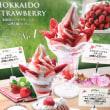 北海道ソフトクリーム『ストロベリーソフト☆デラックス』@びっくりドンキー