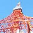 埼玉のオバサンたちの東京見物・・・東京タワーを見上げる