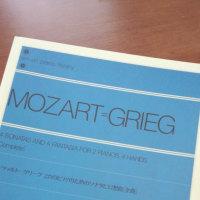 モーツァルト=グリーグ 2台のピアノのためのソナタ