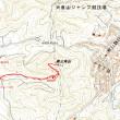 奥三角山のGPSトラック