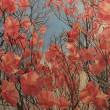 生川和美さんが描く明るく、光、色彩のある絵には、愛情がいっぱい籠められている