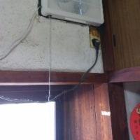 台所の換気扇を取り換え