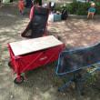 コールマン アウトドアワゴンのテーブル化