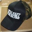 レジットデザインの帽子貰ったけど・・・