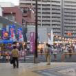 広島県福山市のさよなら夜店の様子(8月13日)
