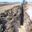 暗渠排水を工事をしています。