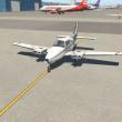 X-Plane11.11のデフォルトのBeechcraft Baron58で福岡から鹿児島まで(2)