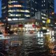 東京2020大会協賛くじ 夕方はゲリラ雷雨