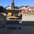 CR 擁壁を解体 駐車場リノベーション工事 茨城 利根