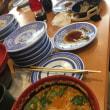 くら寿司で担々麺を食べる