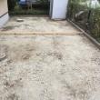 庭の雑草との闘い 整地から打設準備 千葉 印西