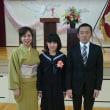卒業式🌸〜(*^_^*)