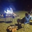 キャンプで自然と一体化