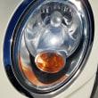 BMW MINIの片方だけ劣化したヘッドライト磨き