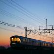 3/26 日の出前、高崎線を走るカシオペア回送列車!!