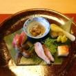 ろあん松田で蕎麦コース料理♪