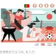 今日のGoogleのトップ画面です