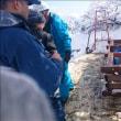 山頂トイレの解体