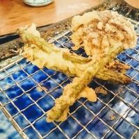 11月3日(土)のつぶやき ナス→インゲンに、チェンジしてもろた(笑) #天ぷら