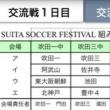 8/10(木)-11(金)吹田サッカーフェスティバル