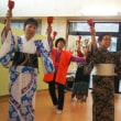 日本舞踊サークル「文扇会」が、ボランティア活動     福井県支部