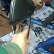 カブレストア⑤エンジン等のブラストと塗装