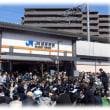 春の日の旅立ち(^^♪本日開業のJR京都線の新駅 街と街、人と人、時と時をつなぐ「JR総持寺駅」