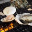 糸島名物カキ小屋でプリプリ焼き牡蠣(^^♪【豊漁丸】