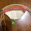 手編み靴下2019年3作目