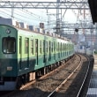 京阪 牧野(2011.9.23) 旧塗装 5555F 普通 淀屋橋行き