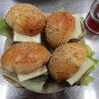 「ミニハンバーガー」と紅茶ゼリー作り